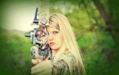 Senior Portraits, Bow Hunter, Schock Photography