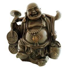 Laughing Buddha of Wealth and Success Buddha Symbols, Feng Shui Statues, Theravada Buddhism, Modern Aprons, Baby Buddha, Buddha Tattoos, Angel Sculpture, Master Of Fine Arts, Asian Decor