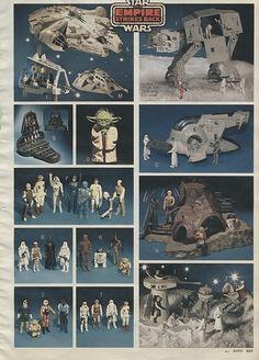 Star Wars Empire Strikes Back 1981-xx-xx Montgomery Ward Christmas Catalog P469