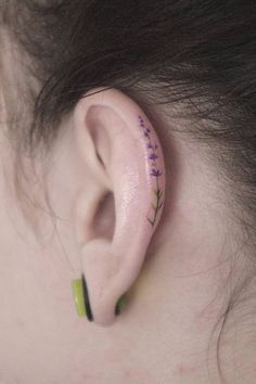 Helix Tattoos Are the Adorable New Trend Guaranteed to Replace Your Earrings