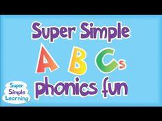 Super Simple ABCs Phonics Song: A - I