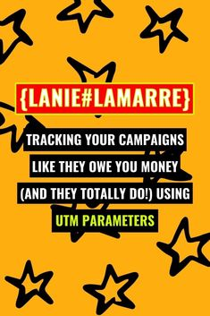 Tracking your campaigns and seeing the ROI metrics for your digital marketing efforts is as simple as implementing UTM parameters. Head over to learn more about what UTM parameters are, how they're as simple as the URLs you're already sharing, and when (and when not!) to use them. // Lanie Lamarre - OMGrowth