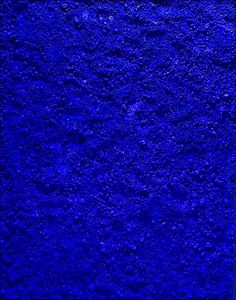 "Vik Muniz, ""Untitled Blue"" after Yves Klein from Pictures of Pigment"