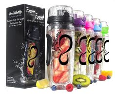 Live Infinitely 32 oz. Infuser Water Bottles - Featuring a Full Length Infusion Rod -- Check this awesome product by going to the link at the image.