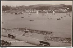 Flushing From Falmouth, Cornwall, c.1930 - Donlion RP Postcard