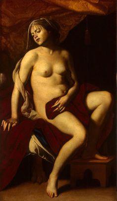 Cleopatra Massimo Stanzione - circa 1635  The State Hermitage Museum