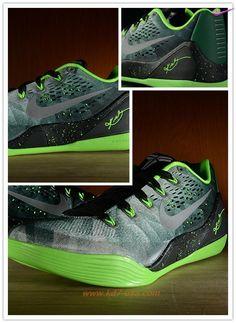 4b5e970f2d9bd8 New Mens 652908-303 Nike Kobe 9 EM Premium Green