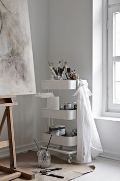 I´m happy to say that I now have my very own studio/atelier located in Drammen city centre. I have renovated the place and are now starting to get in pl...