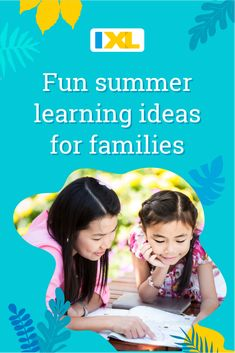 Looking for ways to keep the learning going this summer? Check out these teacher-approved ideas. Summer Months, Summer Fun, Fun Learning, Learning Activities, Helping Children, Educational Games, Kids Reading, Summer Activities, Parents