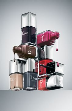 Dior's fall colours for nails