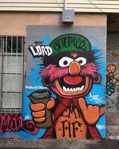 RT GoogleStreetArt: Animal Street Art for the MeetingOfStyles #art #graffiti…