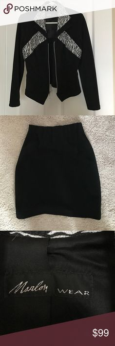 Jacket size xs You buy jacket and I give you skirt for free marlom wear  Jackets & Coats Blazers