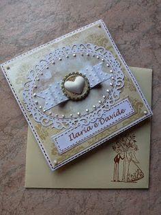 briciole di gioia: Card porta soldi per un matrimonio