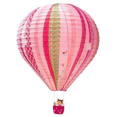 Lilliputiens rispapirlampe, Liz i luftballon - Bestil her   LirumLarumLeg