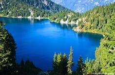 Snow Lake In Washington by Feng Wei Photography, via Flickr