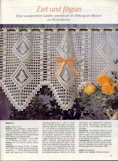 ru / Фото - Diana Special - D 1134 Bistro - Gardinen - Maria-Nikolaevna 100 Diy Crafts, Diy Crafts Crochet, Crochet Home, Crochet Curtains, Diy Curtains, Crochet Chart, Crochet Patterns, Valance Patterns, Sewing Stuffed Animals