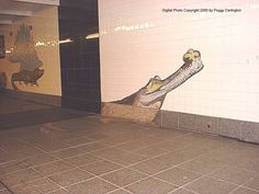 NYC Subway art - 81st St Museum of Natural History