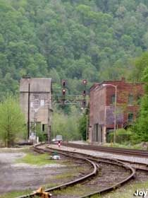 Railroad Ghost Towns of America | Thurmond, West Virginia : Coal Mining Ghost Town