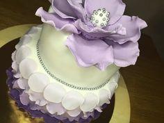 Gcakefactory gâteau Girly parme. - gcakefactory.com