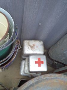 Old hospital boxes ; Price: 10 € / piece