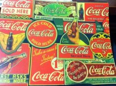 Set of 2 Coca Cola Retro Placemats by Flexible Cutting Mats. $14.38. Made in USA. Quality Licensed Product. Retro Look Place Mats Strong Enough to Cut On