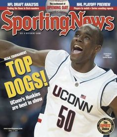 UConn Huskies Emeka Okafor - National Champions - April 12, 2004