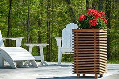 PlanterSpeakers Packs Outdoor Speakers into Funky Planter Box