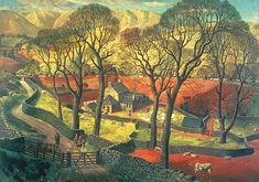 Springtime in Eskdale by James McIntosh Patrick - High quality British made wooden jigsaws with unique whimsy pieces, direct from Wentworth Wooden Puzzles.