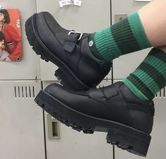 Dr Shoes, Sock Shoes, Cute Shoes, Me Too Shoes, Aesthetic Shoes, Aesthetic Clothes, What's My Aesthetic, Vogue, Hex Girls