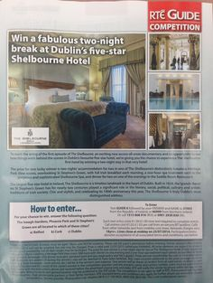 #theshelbourne #win #competition