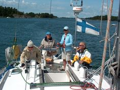 Sailing with aQuablue, Finland