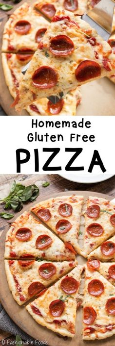 Learn all the tips and tricks to making the best gluten free pizza at home. There are no hard to find ingredients and the dough actually rises! You won't believe it's gluten free!