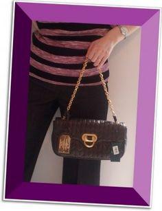 c57b125e3d LAUREN RALPH LAUREN BIRCHILL SHOULDER EVENING HAND BAG CLUTCH PURSE Leather