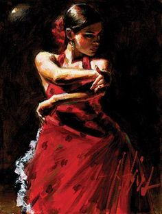 Celina Con Lunares Negros - Fabian Perez (Signed Limited Edition Canvas On Board)