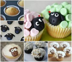Marshmallow Sheep Cupcakes Recipe Video