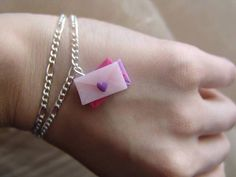 polymer clay valentine's day bracelet https://www.facebook.com/ClayMiniGifts/