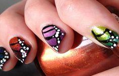 Diseños de uñas pintadas, diseños de uñas pintadas a mano. Clic Follow, Join to CLUB! #diseñodeuñas #acrylicnails #uñasdeboda