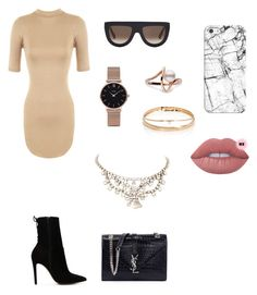 """Cocktail polyvore"" by jesy-smith on Polyvore featuring mode, ALDO, WearAll, Yves Saint Laurent, CÉLINE, CLUSE, Loren Stewart et Casetify"