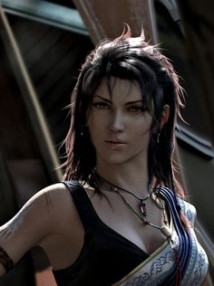 Fang - Final Fantasy 13 his is who Annette. reminds me about beause she will slap someone faster than I will
