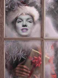 Marilyn Monroe ArtnPrint Painting Winter Norma Jean Baker