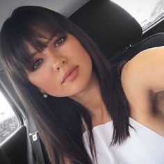 Brown Black Wig For Women Peruvian Remy Human Hair Wigs With Bangs Hairstyles With Bangs, Pretty Hairstyles, Hair Inspo, Hair Inspiration, Medium Hair Styles, Short Hair Styles, Pinterest Hair, Hair 2018, Great Hair