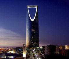 Kingdom Centre.  Riad, Arabia Saudita