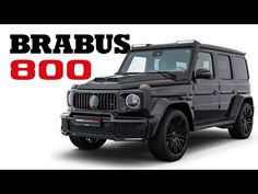 BRABUS 800 Black Ops Edition - YouTube Mercedes Benz G Class, Mercedes Amg, Car Guide, G Wagon, Twin Turbo, Black Ops, Super Cars, Engineering, The Incredibles