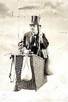 Portrait of Felix Nadar (1820-1910), Photographer and Aeronautical Scientist by Smithsonian Institution, via Flickr