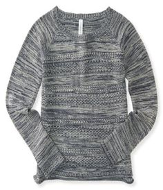Marled Crew-Neck Sweater -