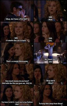 James Lafferty (Nathan Scott) , Hilarie Burton (Peyton Sawyer-Scott) , & Bethany Joy Lenz (Haley James-Scott) - One Tree Hill