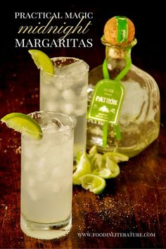 Starting your October off watching your favourite Halloween movies is a must. If Practical Magic is one of your favorites, you need this recipe for Midnight Margaritas!