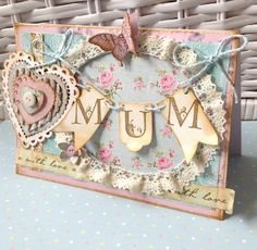 Mothers Day card for Cardmaking and Papercraft online Design Team