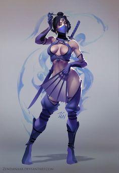 MK World - Kitana by Zendanaar
