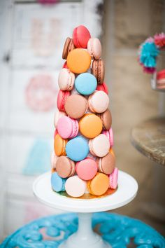 #macarons  Photography: Lauren Gabrielle Photography - LaurenGabrielle.com Event + Floral Design: A Charming Fete - acharmingfete.com  Read More: http://stylemepretty.com/2012/12/19/handcrafted-mosaic-inspiration-shoot-from-lauren-gabrielle-photography/